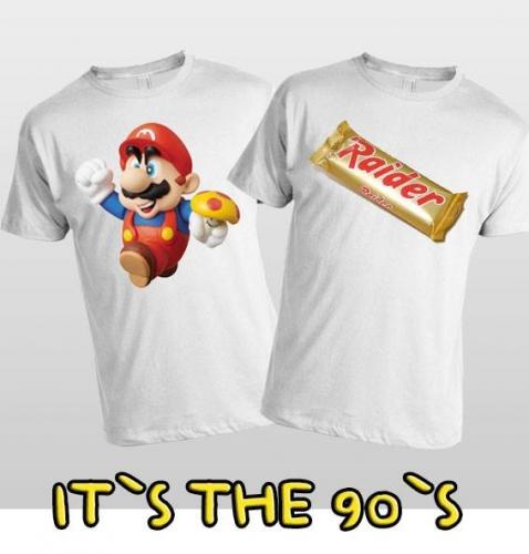 T-shirt alusiva aos 90's