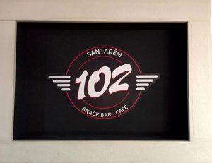 Decoração de Parede para o snack bar - café 102