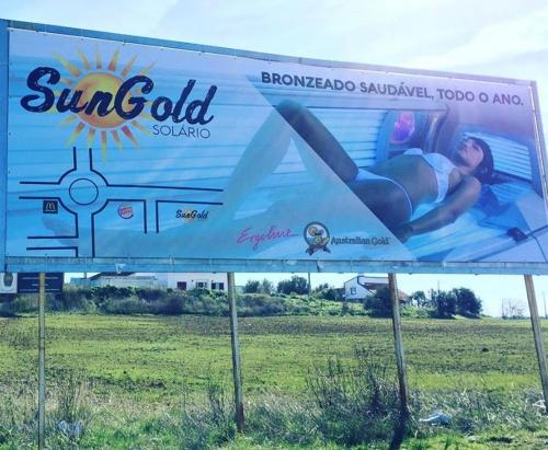 Outdoor personalizado para a SunGold