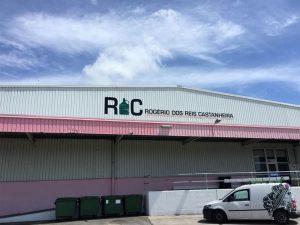 Lettering 3D em aluminio para a RC - Rogério dos Reis Castanheira