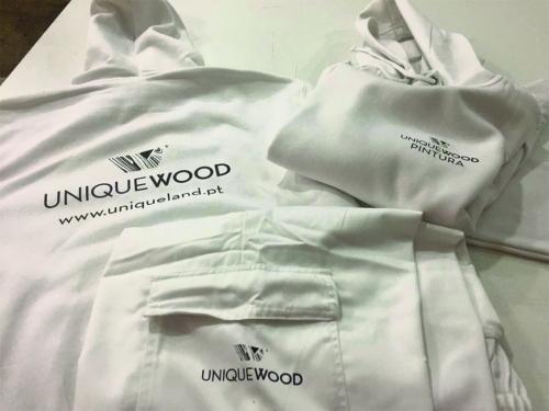 Têxteis Personalizados para a Unique Wood