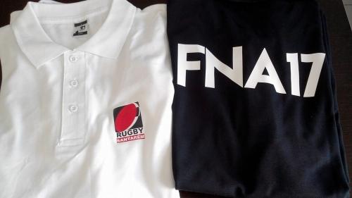 Têxteis Personalizados Rugby Santarém para a FNA 2017